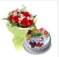 鲜花蛋糕组合4