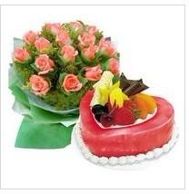 鲜花蛋糕组合07