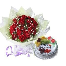 鲜花蛋糕组合11