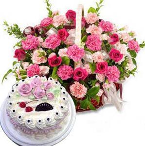 玫瑰康蛋糕