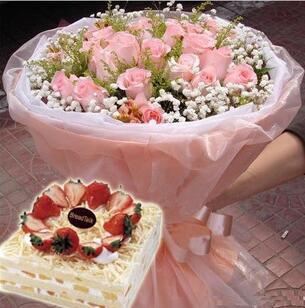 送生日蛋糕