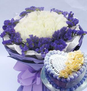 白玫瑰蛋糕