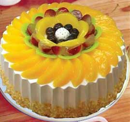 十二寸水果蛋糕