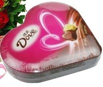 德芙98克心形巧克力