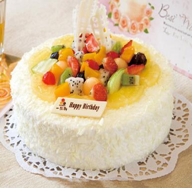 夏露多水果蛋糕
