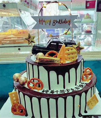 儿童两层蛋糕