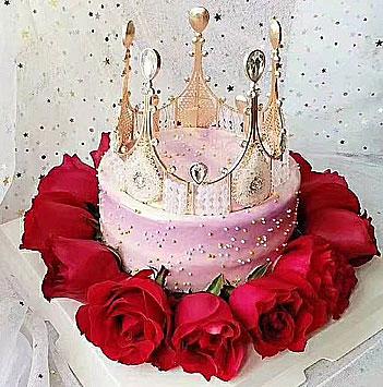 玫瑰皇冠蛋糕