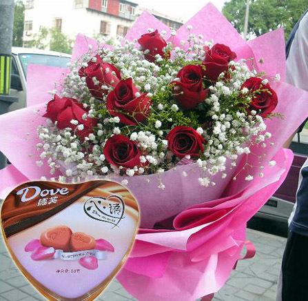玫瑰巧克力