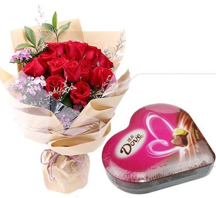 德芙与玫瑰
