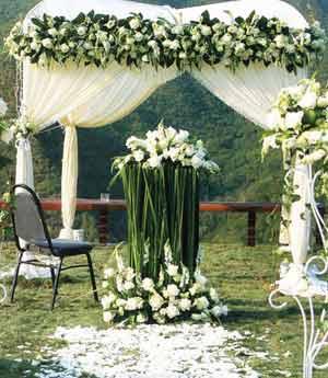 婚庆鲜花11