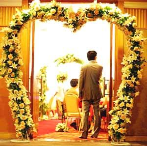 婚庆鲜花16