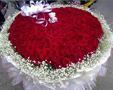 999支红玫瑰