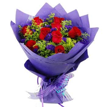 9朵玫瑰送女友
