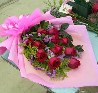 11枝精品红玫瑰/一生相恋