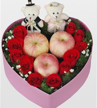 苹果礼盒花01
