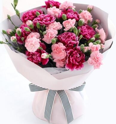 给妈妈送的花