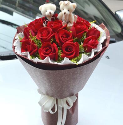 19朵玫瑰